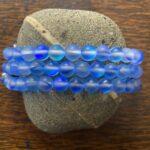 Blue Aura Quartz Crystals