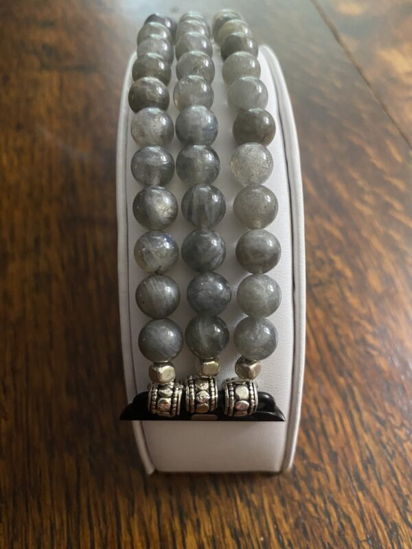 Labradorite Beaded Apple Watch Band